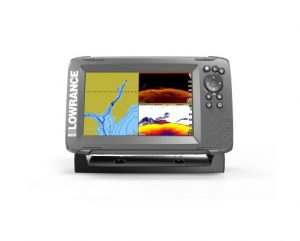 Фото эхолота Lowrance HOOK2-7 SplitShot US COASTAL/ROW