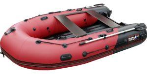 Лодка ПВХ Хантер 330 ПРО надувная под мотор